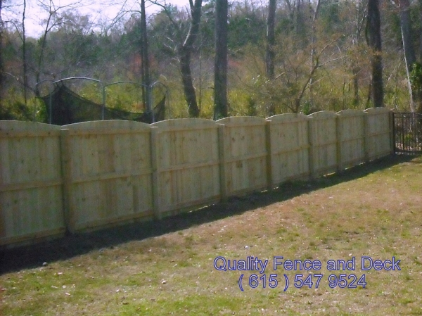 Scallop Arch Quality Fence And Deck Llc