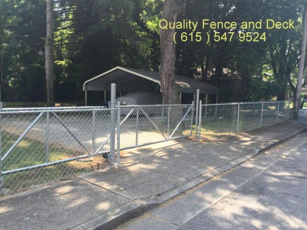 Chain Link Quality Fence And Deck Llc