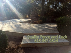 La Vergne TN's Best Deck Installation - Quality Fence & Deck - 1-1