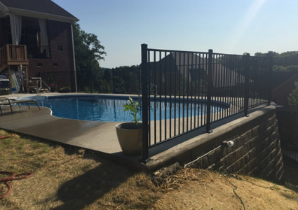 Swimming Pool Fencing in Murfreesboro, TN | Quality Fence & Deck